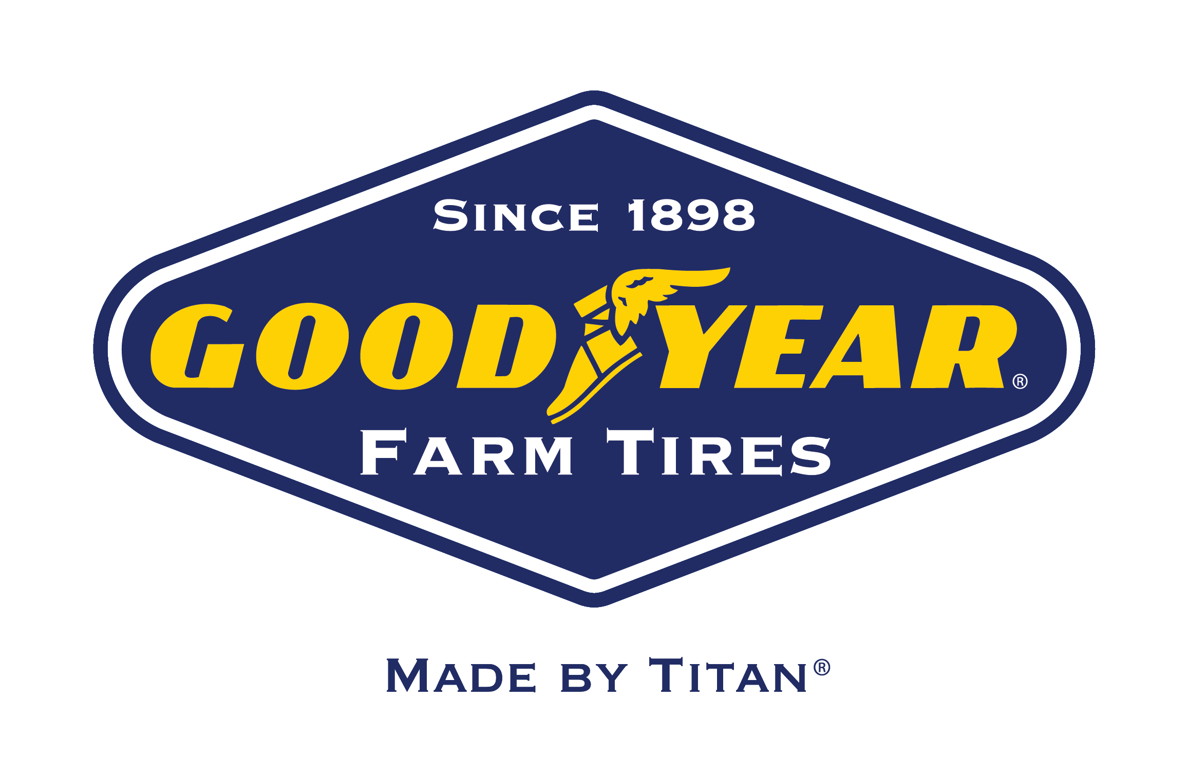 Titan and Goodyear Farm Tyres